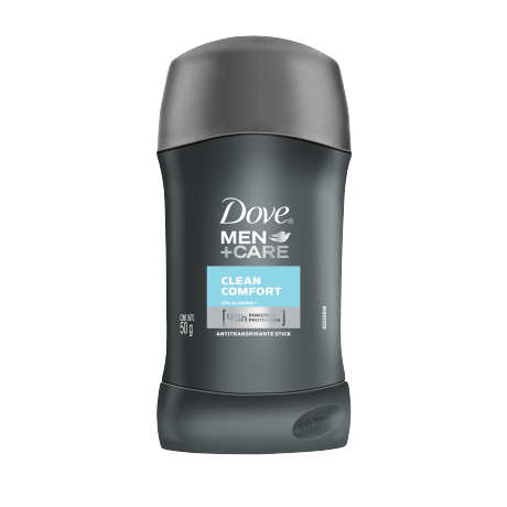 Dove Men+Care Antitranspirante en barra Clean Comfort 50g