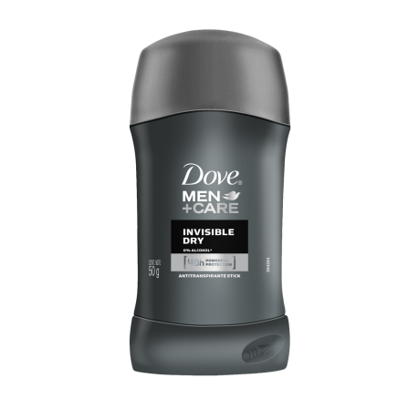 Dove Men+Care Antitranspirante en barra Invisible Dry 50g
