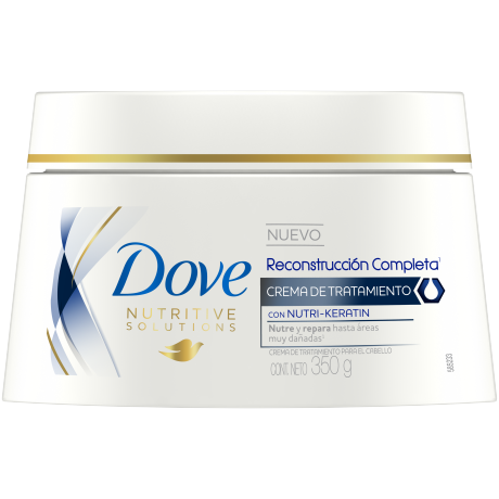 Dove Crema de Tratamiento Reconstrucción Completa 350g