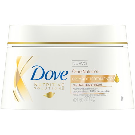 Dove Crema de Tratamiento Óleo Nutrición 350g
