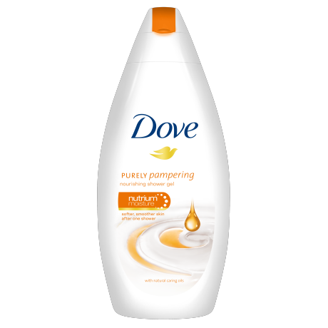Dove Dove Purely Pampering Natural Caring Oils gel krema za prhanje 250ml