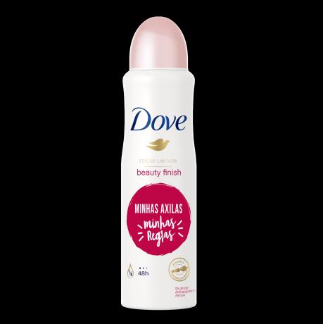 Desodorante Antitranspirante Aerosol Dove Beauty Finish 150ml