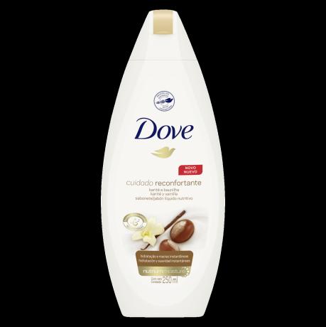 Sabonete Líquido Dove Delicious Care Karité e Baunilha 250ml