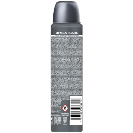PNG - Desodorante Antitranspirante Aerosol Dove Men + Care Antibac 150ML