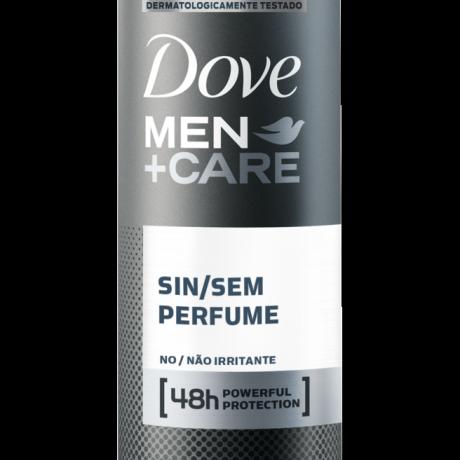 Antitranspirante Dove Men+Care Aerosol Sem Perfume 150ml