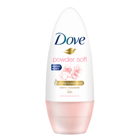 Antitranspirante Dove Roll-On Powder Soft 50ml
