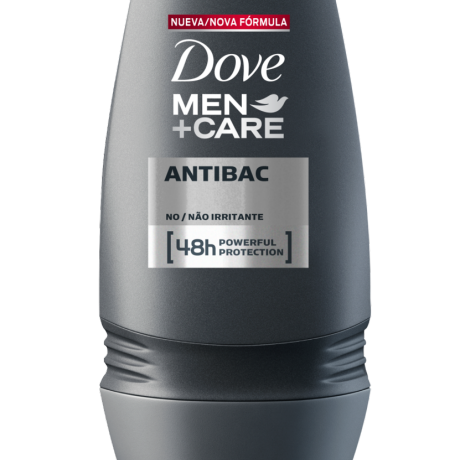 Antitranspirante Dove Men+Care Roll-On Silver Control 50ml