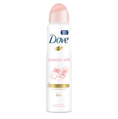 Desodorante Antitranspirante Aerosol Dove Powder Soft 150ml