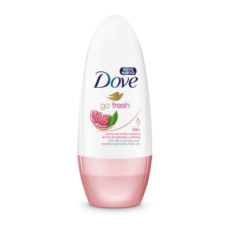 Antitranspirante Dove Roll-On Go Fresh Romã e Verbena 50ml