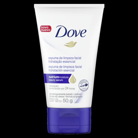 Espuma de Limpeza Facial Dove Hidratação Essencial 50g
