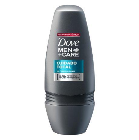 Desodorante Antitranspirante Rollon Dove Men+Care Cuidado Total 50ml