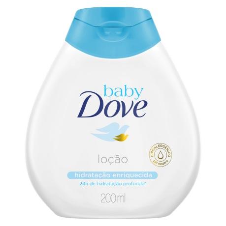 Baby Dove Loção Hidratante Hidratação Enriquecida 200ml