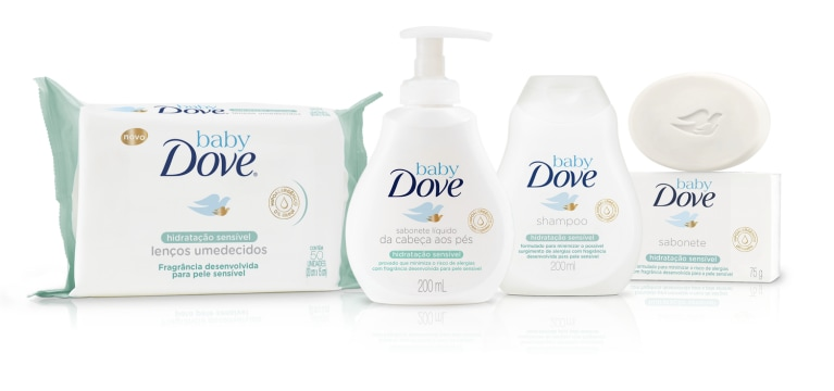 Baby Dove Hidratação Sensível