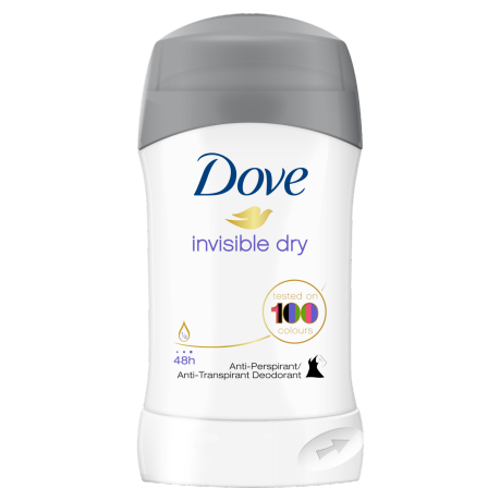 Dove Invisible Dry antiperspirant u sticku 40ml