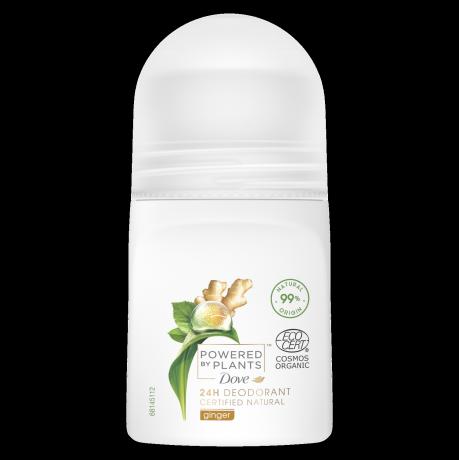Dove Powered by Plants Imbir Dezodorant w kulce 50 ml