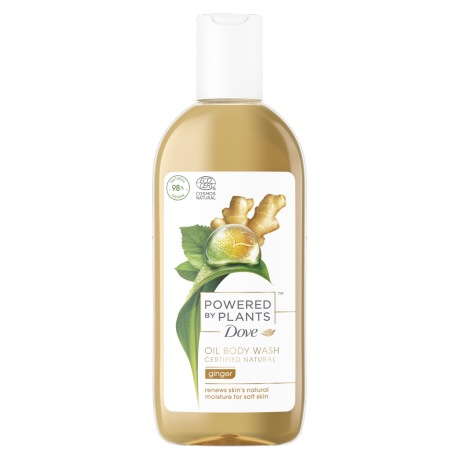 Dove Powered by Plants Gel Douche Ginger 250ml