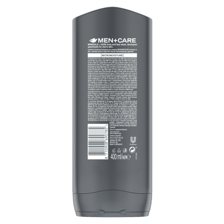 PNG - DMC-Minerals & Sage Shower Gel-FL-400ml