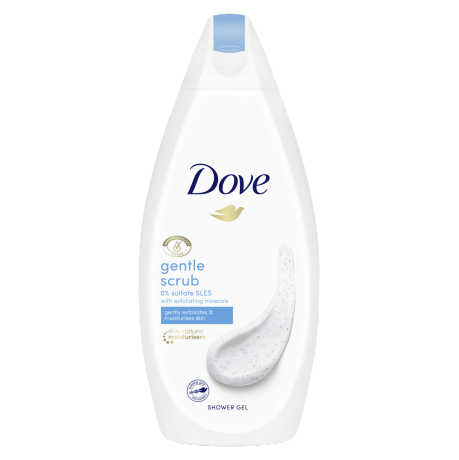 Dove Gel de Duche Gentle Scrub 500ml