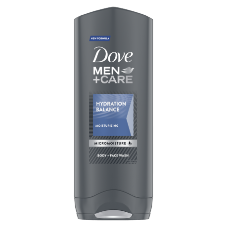 Dove Men+Care Hydration Balance body and face wash 250ml