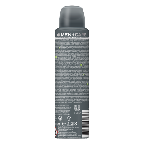 PNG - DOVE MEN+CARE EXTRA FRESH AEROSOL ANTI-PERSPIRANT