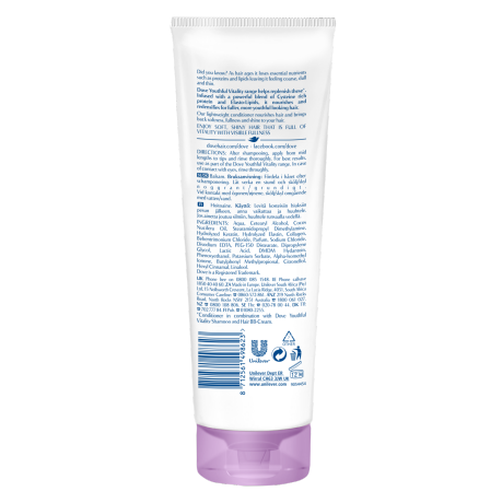 PNG - Dove Advanced Hair Series Youthful Vitality conditioner for mature hai