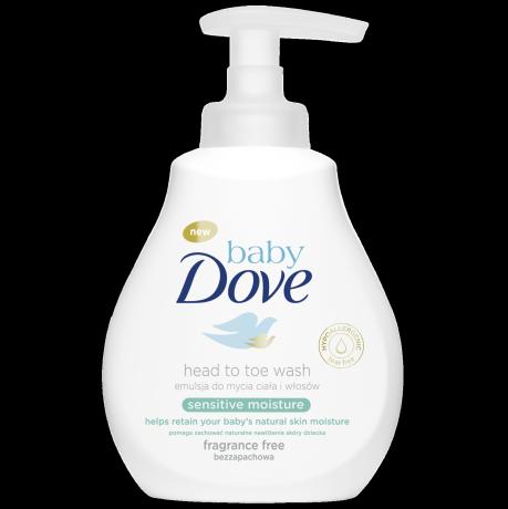 Baby Dove Emulsja do mycia ciała i włosów Sensitive Moisture 200ml