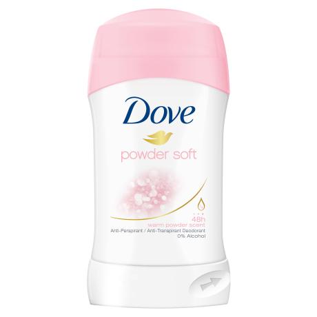 Dove стик дезодорант против изпотяване Powder soft 40ml