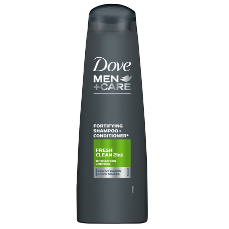 Dove Шампоан Men+care Fresh clean 400ml