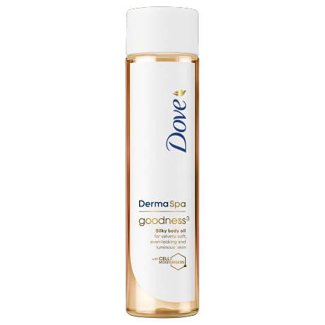 Dove Олио за тяло DermaSpa Goodness 150ml