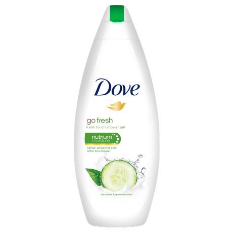 Dove Go Fresh Fresh Touch hranljivi krem gel za tuširanje 250ml