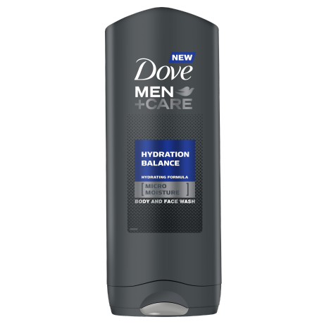 Dove Men+Care Hydration Balance gel za tuširanje 250ml