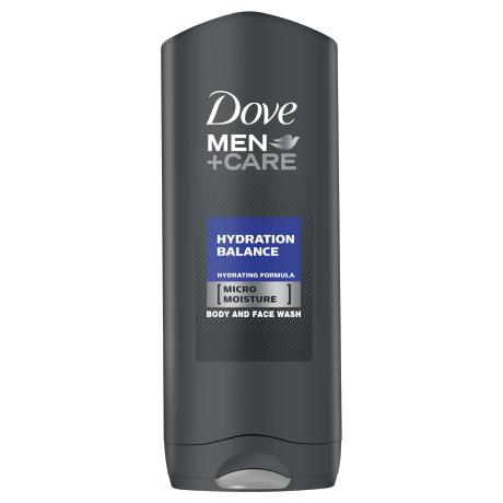 Dove Men+Care Gel de Duche Hydration Balance 400ml