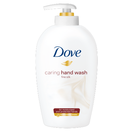 Dove Fine Silk tekoče milo 250ml