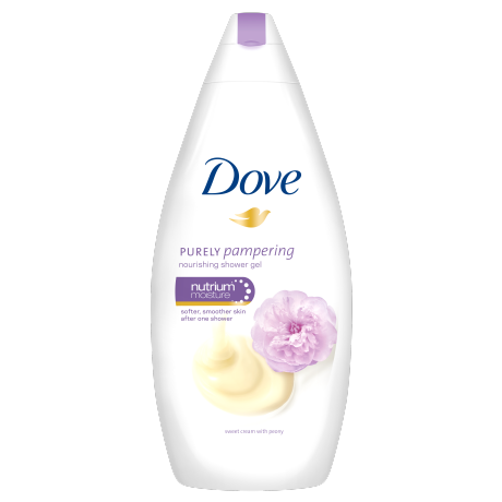 Dove Purely Pampering peony gel za tuširanje 500ml