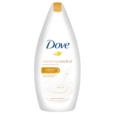 Dove Nourishing Care and Oil gel za tuširanje 250ml