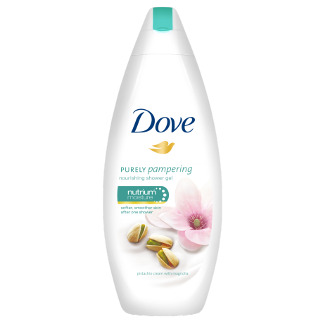 Dove Purely Pampering Pistachio cream with mangolia gel krema za prhanje 250ml