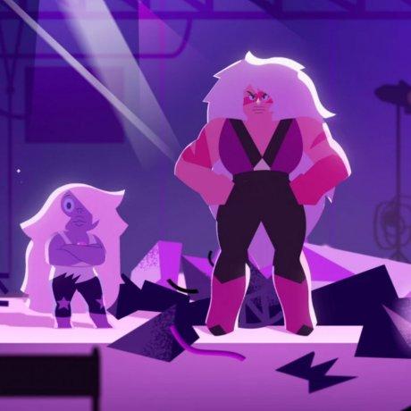 Dove et Steven Universe