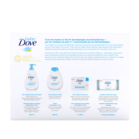 PNG - Baby Dove Canda - Gift Set Pack Shot