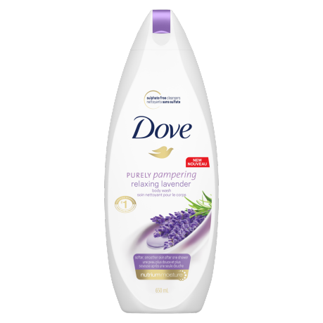 Dove Purely Pampering Relaxing Lavender Body Wash