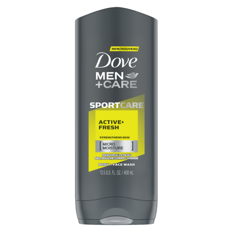 Men+Care SPORTCARE Body Wash Active+Fresh 400ml
