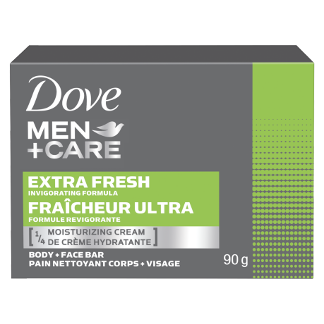 Men+Care Extra Fresh Body & Face Bar 90g