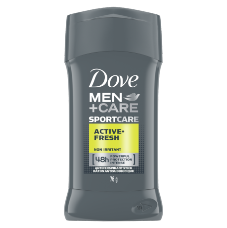 Antisudorifique en bâton Dove Men+Care SPORTCARE Active + Fresh 107 g