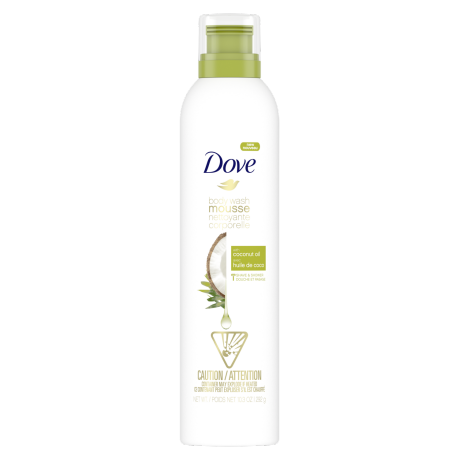 Dove Body Wash Mousse with Coconut Oil 292g