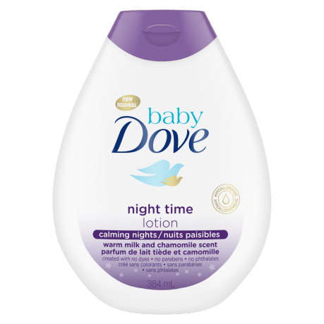 Baby Dove Calming Nights Lotion 384ml