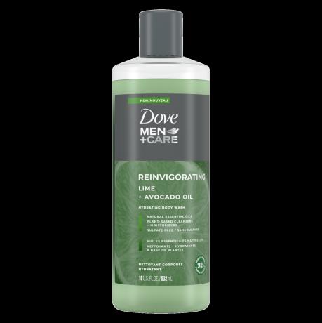 Men+Care Invigorating Lime + Avocado Oil Body + Face Wash Front
