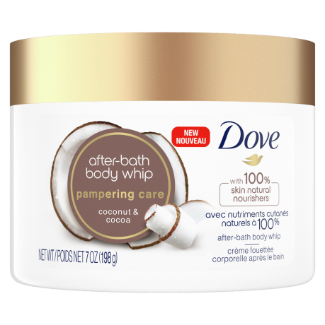 Pampering Care Coconut & Cacao After-Bath Body Whip Front
