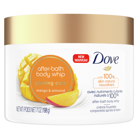 Glowing Care Mango & Almond After-Bath Body Whip Front