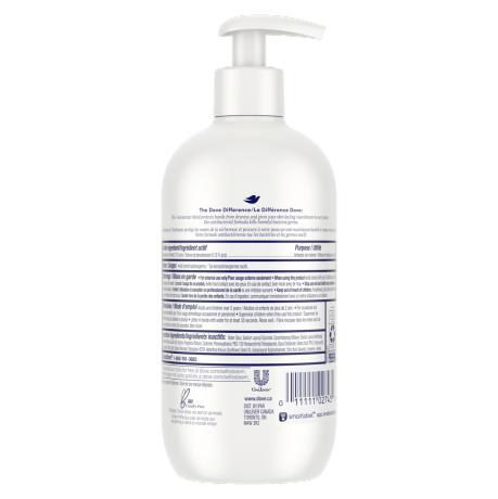 Care & Protect Antibacterial Hand Wash 400mL Back