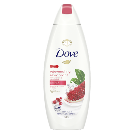 Rejuvenating Body Wash with Pomegranate and Hibiscus Tea Body Wash 354ml