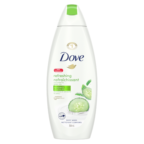 Refreshing Body Wash with Cucumber and Green Tea Body Wash 354ml